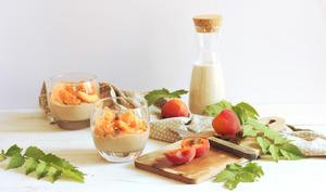 Riz au lait noisette et abricot