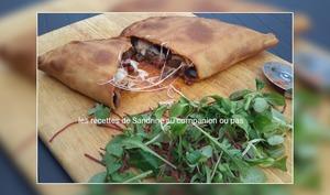 Calzone végétarienne