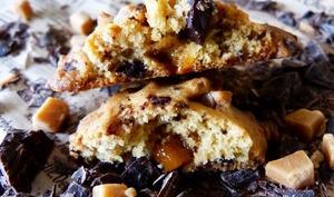 Cookies choco-fudge caramel