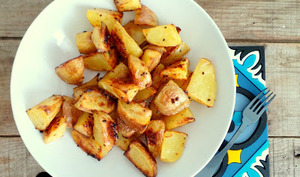 Potatoes au four au sirop d'érable
