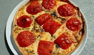 Tarte tomates cantal