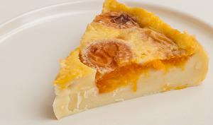 Cuajada aux abricots