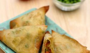 Samoussas aux légumes et épices indiennes