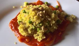 Quinoa façon risotto à la sauce tomate