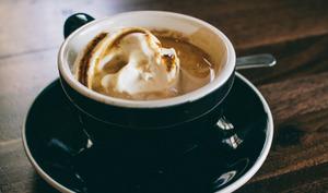 Affogato al caffé