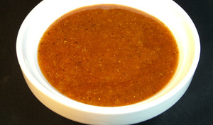 Sauce curry du fast-food