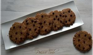 Sablé craquelé au chocolat chocolat