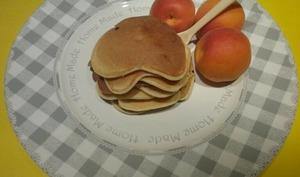 Pancakes aux abricots
