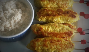 Brochettes de poulet à Bali