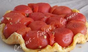 Tatin aux tomates farcies