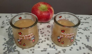Compote de pommes à la cassonade onctueuse et veloutée