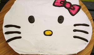 Gâteau Hello Kitty facile