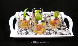 Petites verrines méditerranéennes