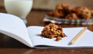 Cookies aux flocons d'avoine et à l'huile d'olive