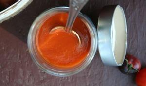 conserves de coulis de tomates