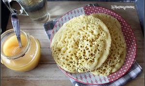 Baghrir ou crêpes mille trous