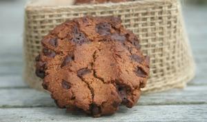 Cookies farine de châtaigne, noisette et pépites de chocolat
