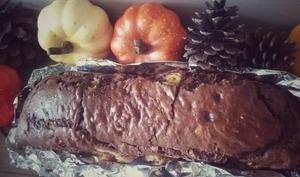 Cake d'automne au chocolat et courge butternut