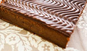 Gâteau chocolat et mascarpone d'après Cyril Lignac