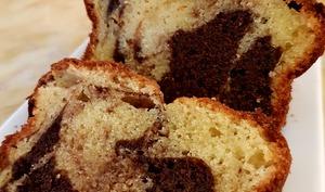 Gâteau marbré au yaourt de brebis