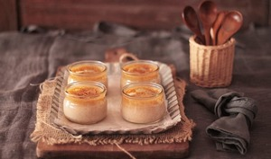 Petites crèmes pralinées