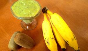 Froyo kiwi banane et mélisse officinale
