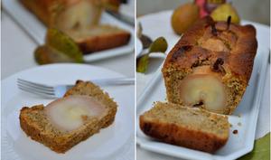 Cake aux poires entières et thé chaï