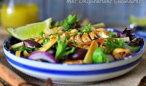 Sauté de poulet au soja et citron vert