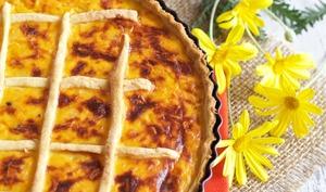Tarte salée butternut et Comté