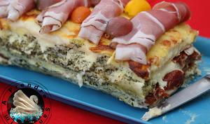 Croque-cake à l'italienne