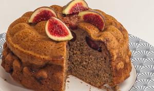 Gâteau du matin noix et figues