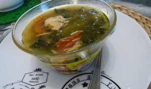 Soupe de poulet à la citronnelle