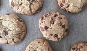 Cookies aux pépites 3 chocolats