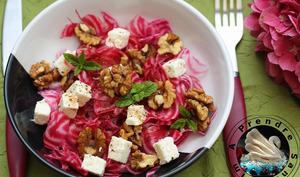 Salade de betteraves aux noix