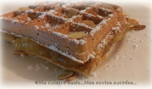 Gaufre orange lime