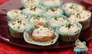 Cupcakes betterave aux noix