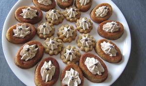 Petits moelleux aux châtaignes et sa crème de châtaignes