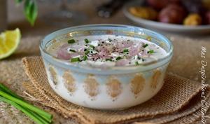 Sauce au fromage blanc pour crudités