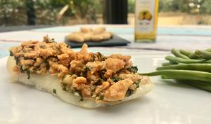 Filets d'églefin aux cacahuètes