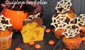 Muffins d'Halloween au potimarron