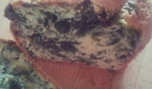 Cake aux épinards et fromage frais