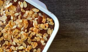 Gâteau d'Eve pommes amandes