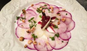 Radis violets en pickles ou en carpaccio
