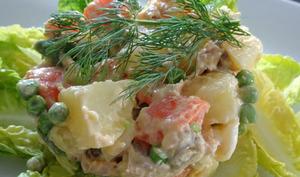 Salade russe - Salade Olivier