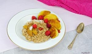 Porridges aux graines de sarrasin