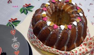 Mouskoutchou ou meskouta, pépites de chocolat et oranges confites