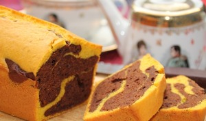 Cake au chocolat noir et potimarron