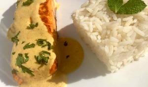 Pavés de saumon rôtis aux épices