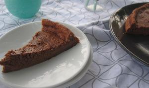 Gâteau mousseux au chocolat sans culpabilité
