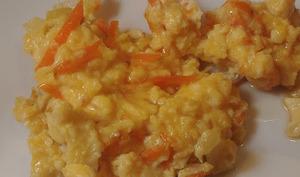 Omelette au sirop d'érable